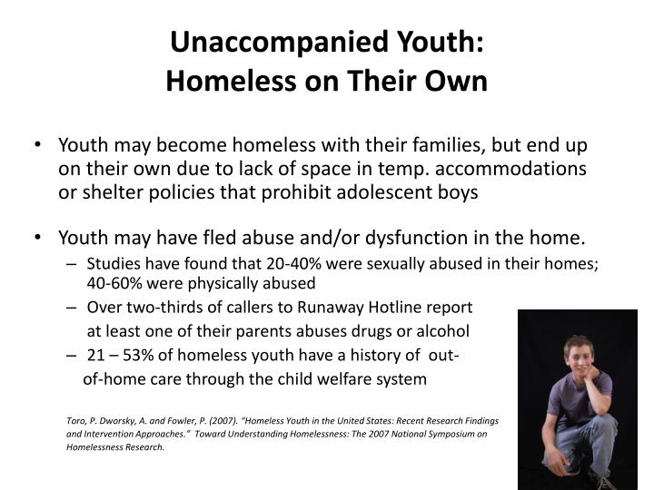 Unaccompanied Youth: