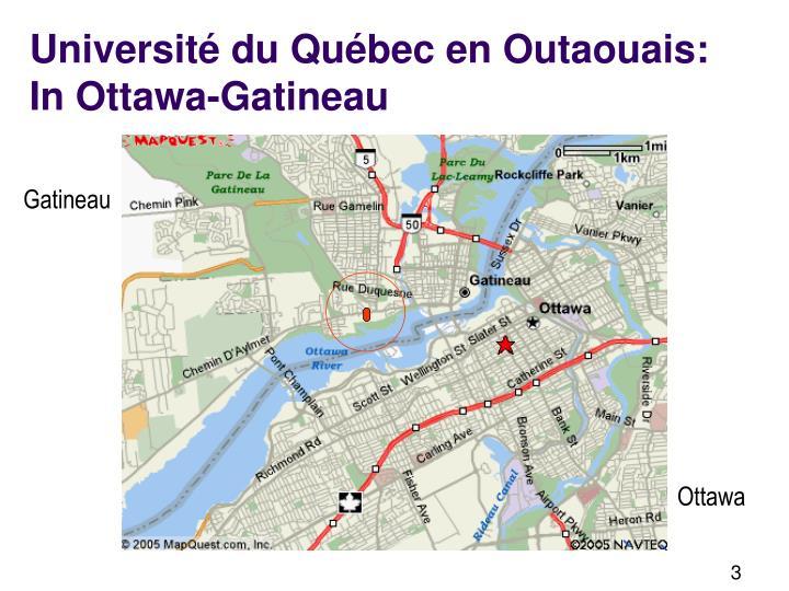 Université du Québec en Outaouais: