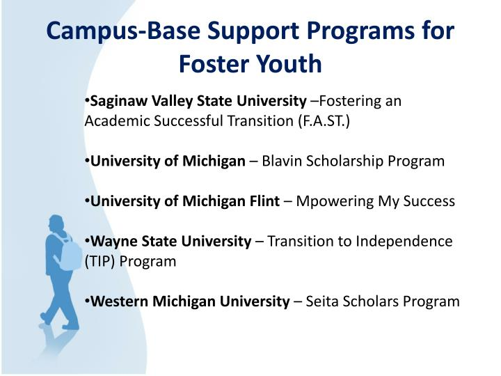 Campus-Base Support Programs for Foster Youth