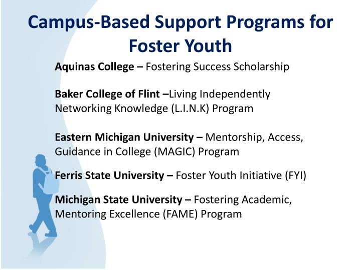 Campus-Based Support Programs for Foster Youth