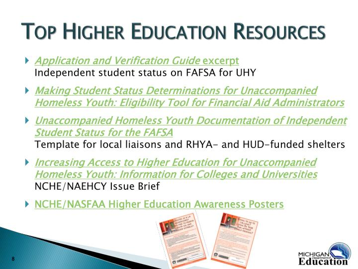 Top Higher Education Resources