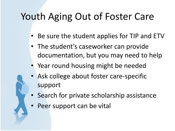 Youth Aging Out of Foster Care