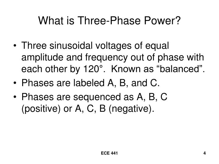 What is Three-Phase Power?