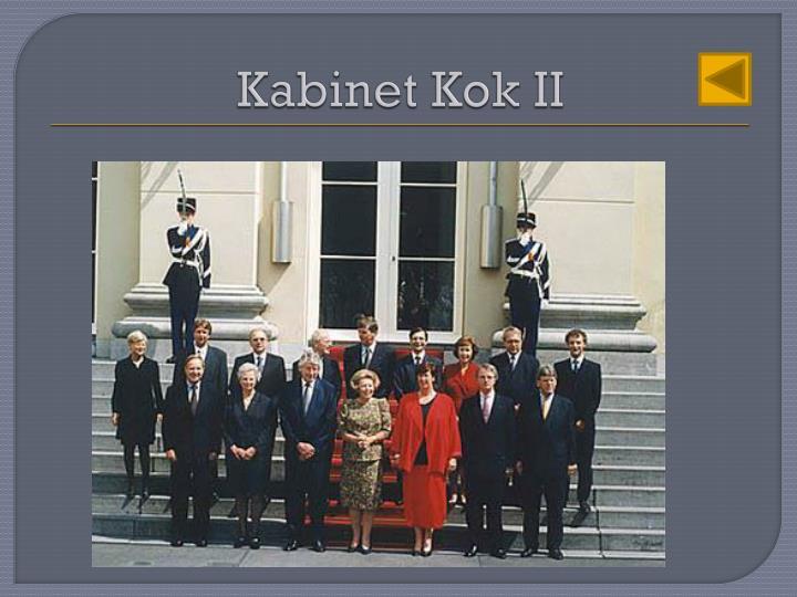 Kabinet Kok II