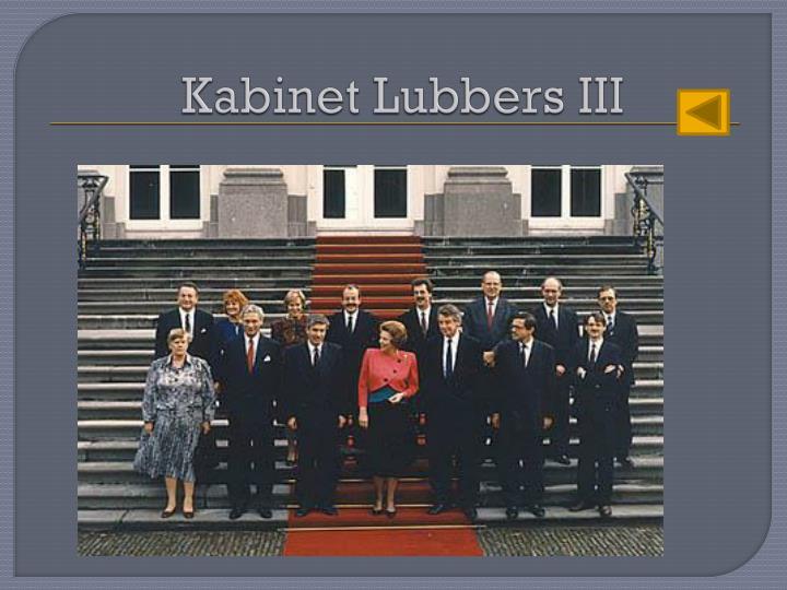 Kabinet Lubbers III