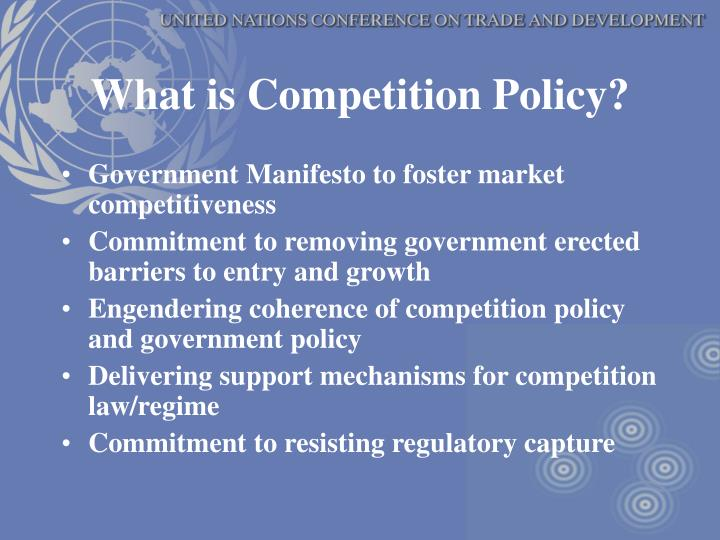 What is Competition Policy?