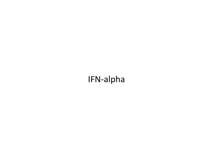 IFN-alpha
