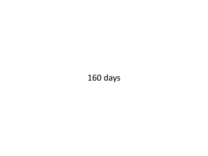 160 days