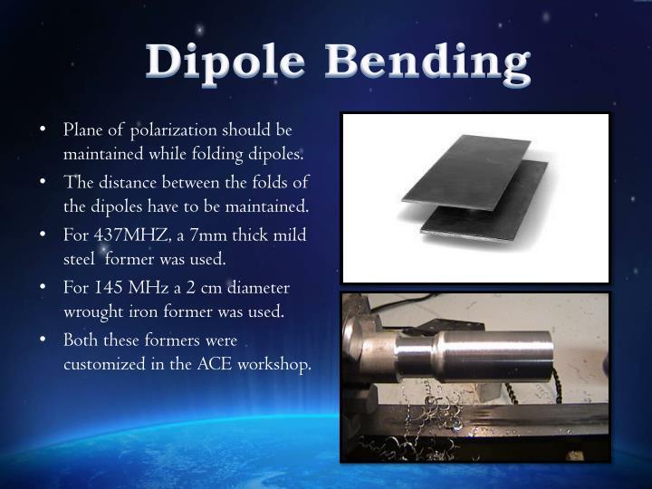 Dipole Bending