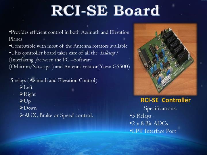 RCI-SE Board