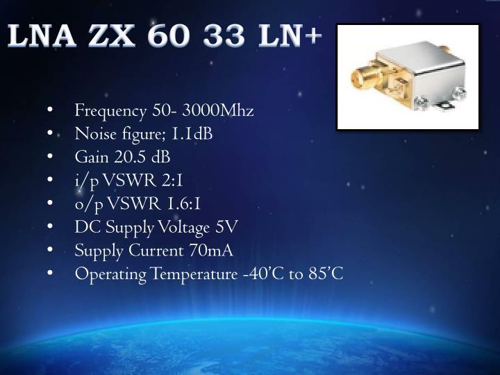 LNA ZX 60 33 LN+