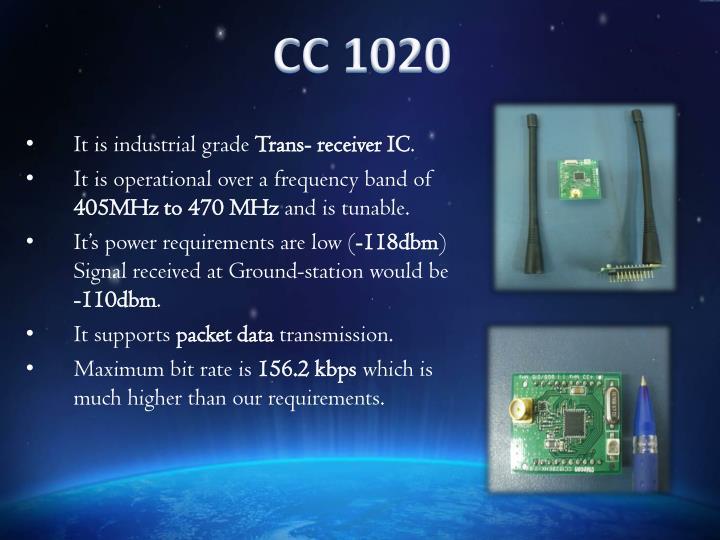 CC 1020