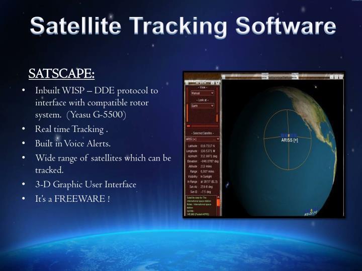 Satellite Tracking Software