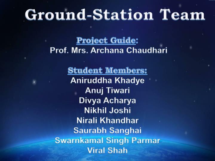 Ground-Station Team