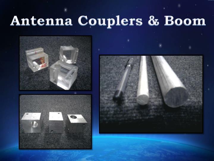 Antenna Couplers & Boom
