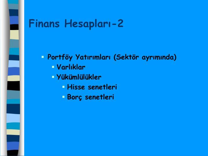 Finans Hesapları-2