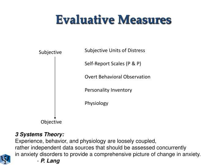 Evaluative Measures