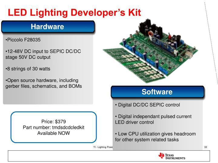 LED Lighting Developer's Kit