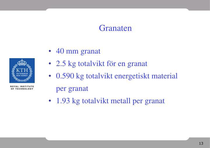 Granaten