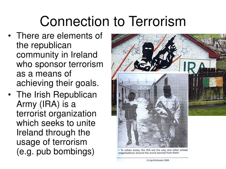 Connection to Terrorism