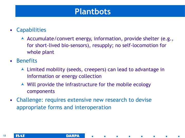 Plantbots