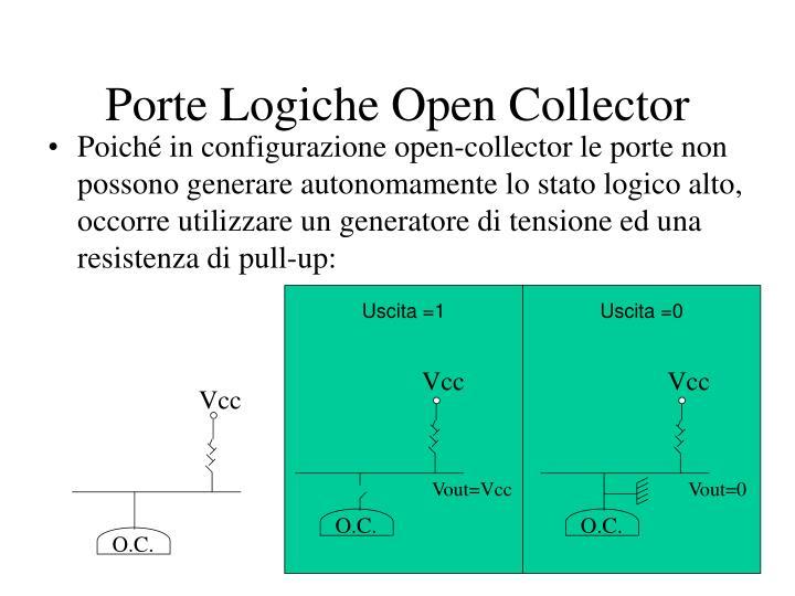 Porte Logiche Open Collector