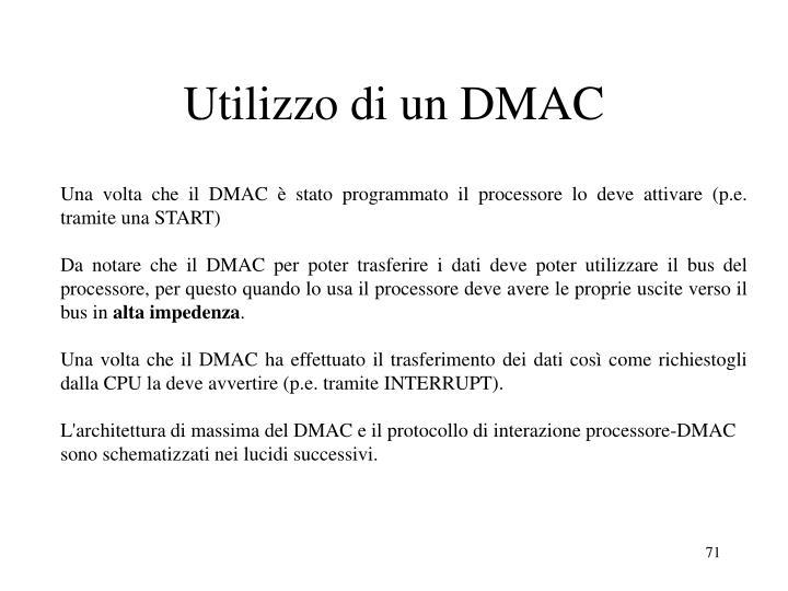 Utilizzo di un DMAC