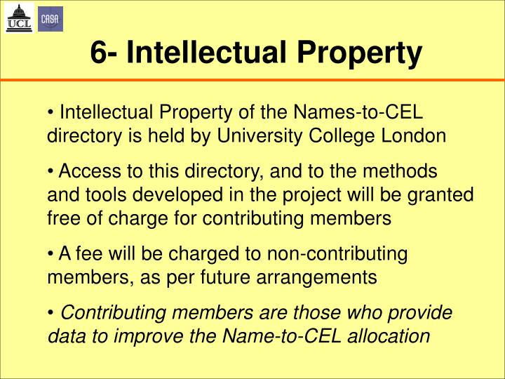 6- Intellectual Property