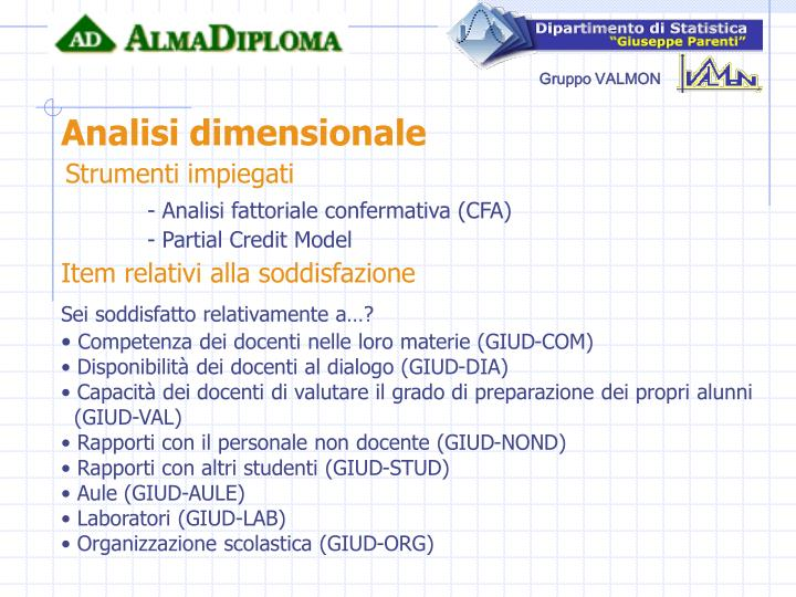 Analisi dimensionale