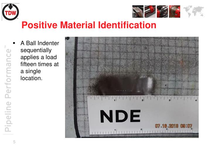 Positive Material Identification