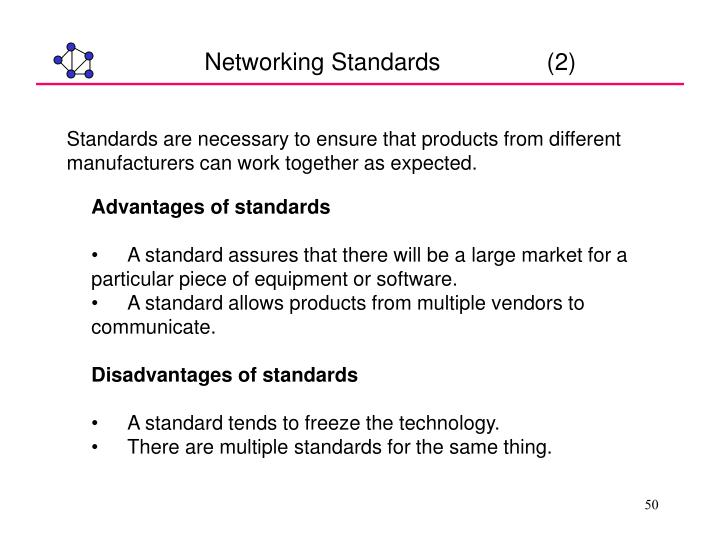 Networking Standards                (2)