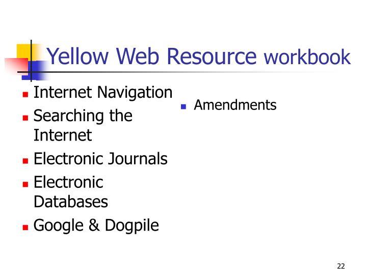 Internet Navigation