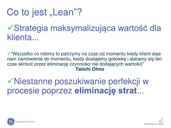Co to jest lean