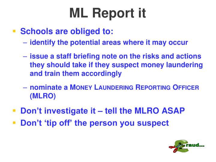 ML Report it