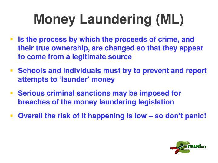 Money Laundering (ML)