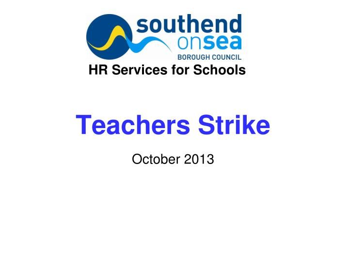 HR Services for Schools