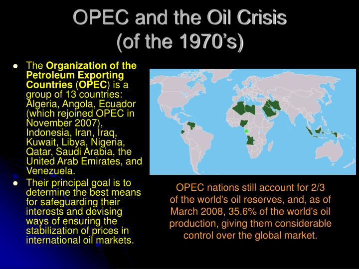 OPEC and the Oil Crisis