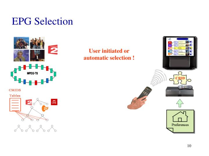 EPG Selection