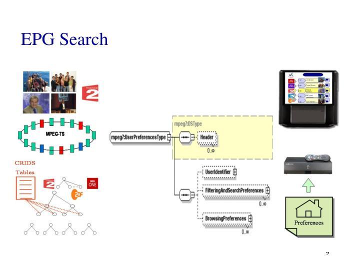 EPG Search