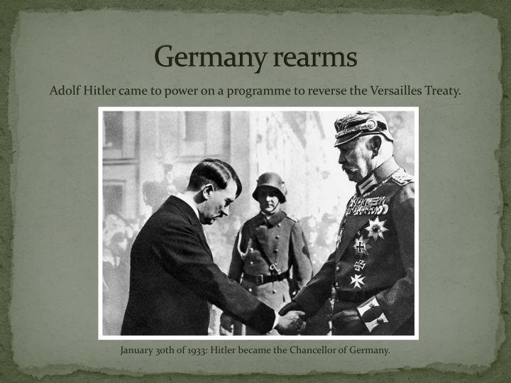 Germany rearms