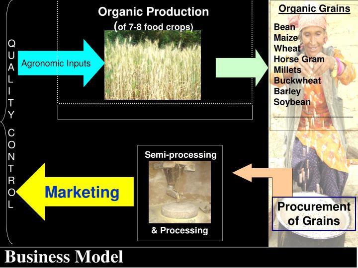 Organic Production (