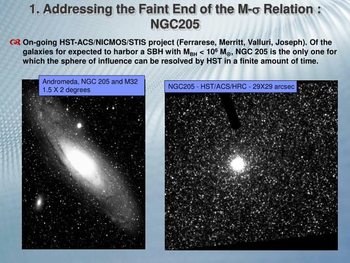 NGC205 - HST/ACS/HRC - 29X29 arcsec