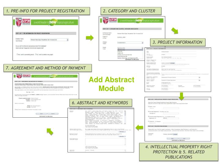 1. PRE-INFO FOR PROJECT REGISTRATION
