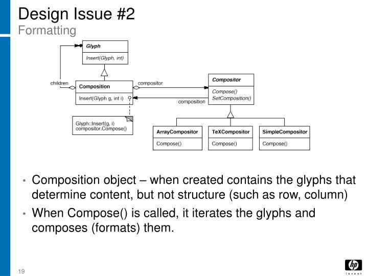 Design Issue #2