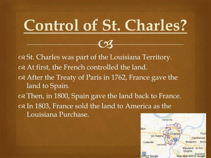 Control of St. Charles?