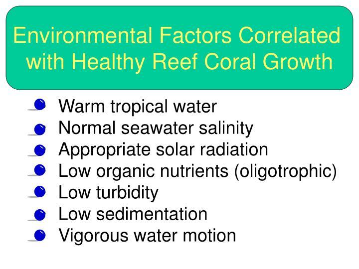 Environmental Factors Correlated