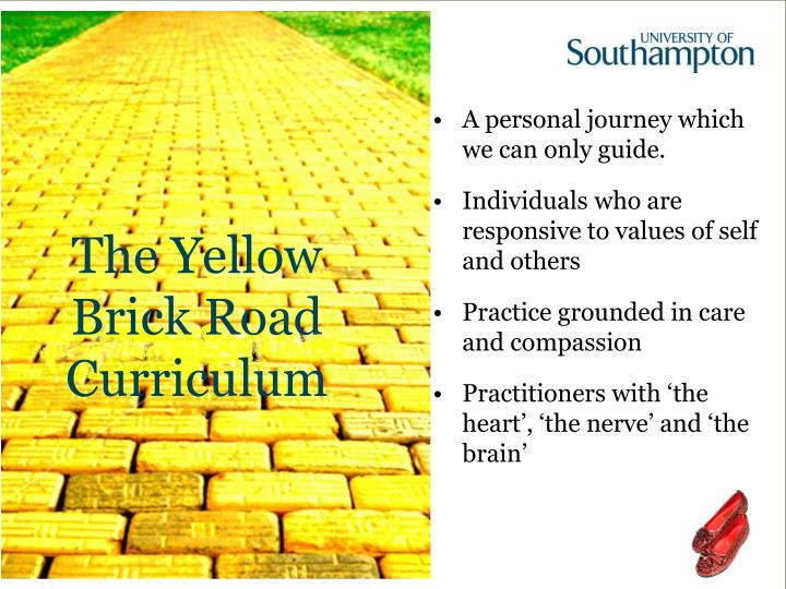 The Yellow Brick Road Curriculum