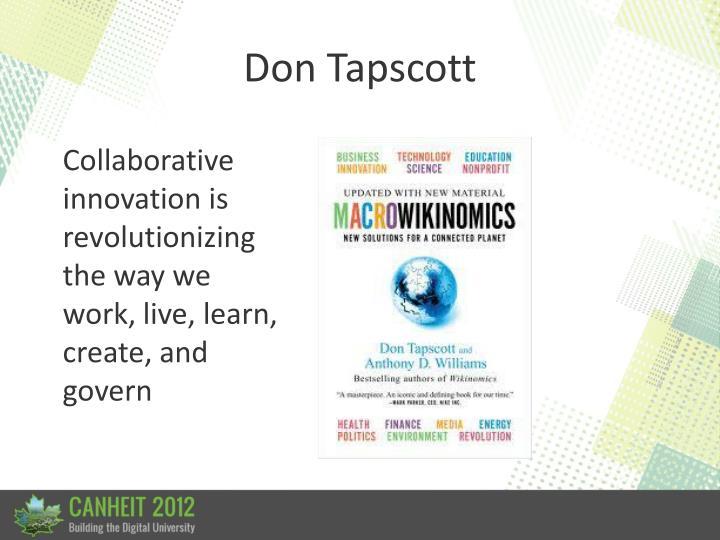 Don Tapscott