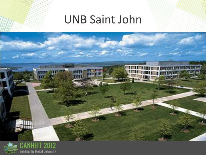 UNB Saint John