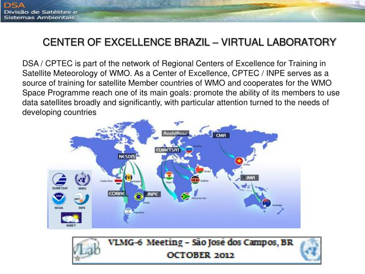 CENTER OF EXCELLENCE BRAZIL – VIRTUAL LABORATORY